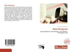 Mats Bergman kitap kapağı