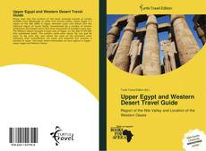Upper Egypt and Western Desert Travel Guide kitap kapağı