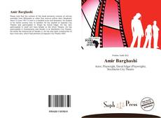 Bookcover of Amir Barghashi