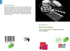 Borítókép a  Karin Bertling - hoz
