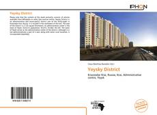 Yeysky District kitap kapağı