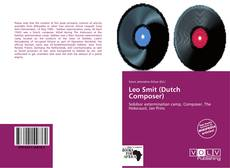 Couverture de Leo Smit (Dutch Composer)