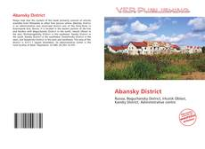 Abansky District kitap kapağı