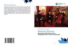 Bookcover of Manfred Stahnke