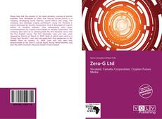 Couverture de Zero-G Ltd