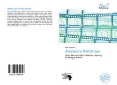 Portada del libro de Alexandra Dahlström
