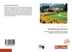 Couverture de Kovylkinsky District