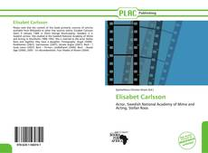 Bookcover of Elisabet Carlsson