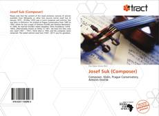 Обложка Josef Suk (Composer)