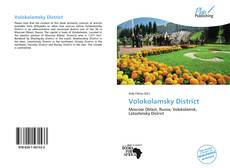 Buchcover von Volokolamsky District