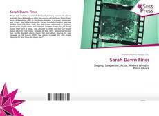 Обложка Sarah Dawn Finer