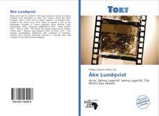 Portada del libro de Åke Lundqvist