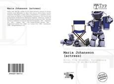 Bookcover of Maria Johansson (actress)