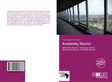 Bookcover of Krestetsky District