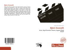 Björn Granath kitap kapağı