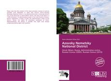 Copertina di Azovsky Nemetsky National District