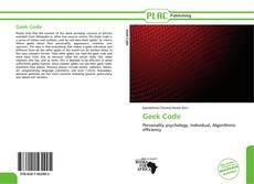 Geek Code kitap kapağı