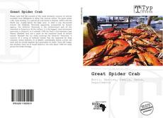 Bookcover of Great Spider Crab