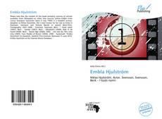 Portada del libro de Embla Hjulström