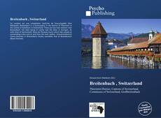 Bookcover of Breitenbach , Switzerland