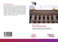 Capa do livro de Klas Torstensson