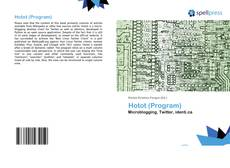 Capa do livro de Hotot (Program)