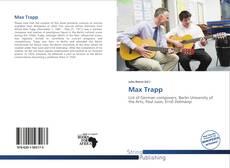 Portada del libro de Max Trapp
