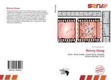 Обложка Benny Haag