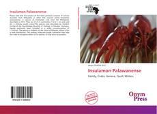 Capa do livro de Insulamon Palawanense