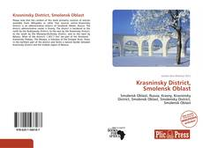 Buchcover von Krasninsky District, Smolensk Oblast