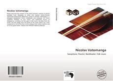 Bookcover of Nicolas Vatomanga