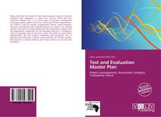 Bookcover of Test and Evaluation Master Plan