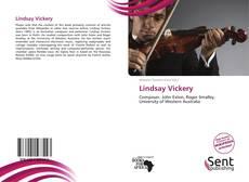 Couverture de Lindsay Vickery