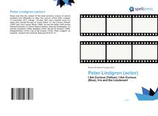 Peter Lindgren (actor) kitap kapağı