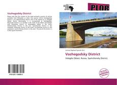Bookcover of Vozhegodsky District