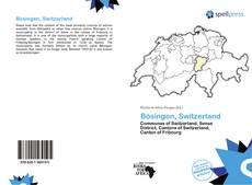 Bookcover of Bösingen, Switzerland
