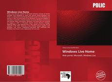 Обложка Windows Live Home