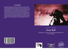 Buchcover von Ernst Rolf