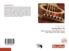 Bookcover of Jiang Wen-Ye