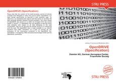 Capa do livro de OpenDRIVE (Specification)