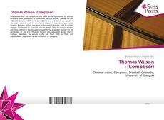Portada del libro de Thomas Wilson (Composer)
