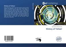 Bookcover of History of Yahoo!