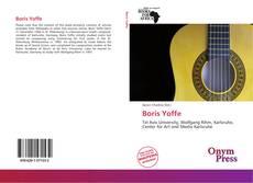 Capa do livro de Boris Yoffe