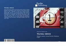 Couverture de Mariska Aldrich