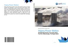 Bookcover of Vojany Power Station