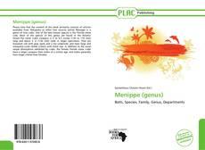 Portada del libro de Menippe (genus)