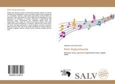 Capa do livro de Petri Kuljuntausta
