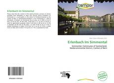 Bookcover of Erlenbach Im Simmental