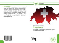 Bookcover of Ermatingen