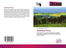 Stratford Tony kitap kapağı